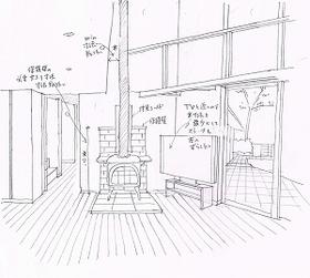 杉並区大宮根本邸ストーブイメージスケッチ20130404_0000_01.jpg