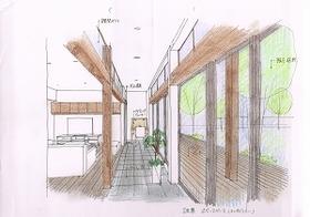 秋山邸 内観スケッチパース20140527_0003.jpg
